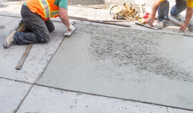 How do i cure my concrete driveway davis concrete for Temperature to pour concrete driveway