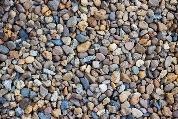 using river gravel