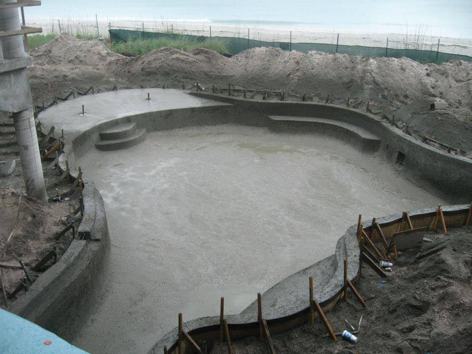 Concrete Swimming Pool - Davis