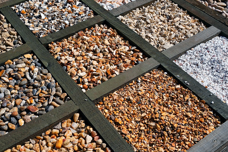 Landscaping With Gravel Best Gravel For Landscaping Davis Concrete