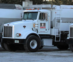 davis concrete trucks